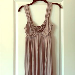 Soprano gray dress